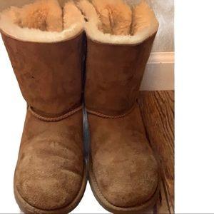 Ugg Bailey Twinface Shearling Corduroy Boot Size 5